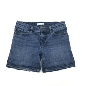 Ann Taylor Made & Loved Relaxed Jean Shorts Sz 26